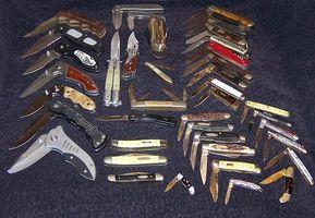 ¿Qué tipo de Metal Cleaner limpiará cuchillos de bolsillo de la vendimia?