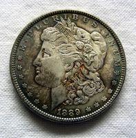 ¿Qué es un dólar de plata de Morgan Carson City?
