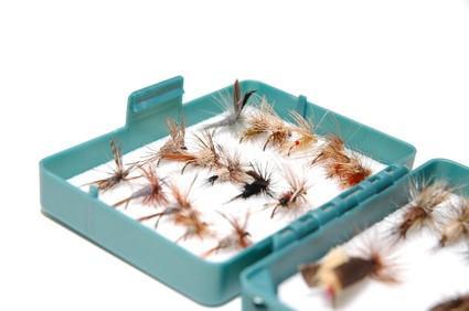 Herramientas para el encargo a atar de la mosca