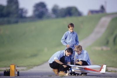 Principios de vuelo para los aviones de modelos