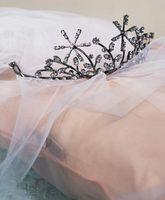 ¿Puedo usar una tiara y un velo de mi día de la boda?