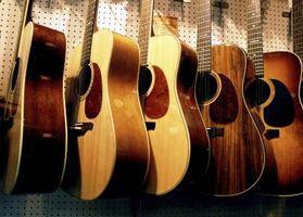 Cómo establecer Espaciamiento de la secuencia para el puente de guitarra de 12 cuerdas