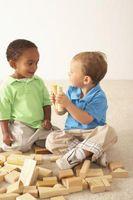 Actividades en el carácter moral de Desarrollo para niños pequeños