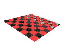 Reglas para el Rey en un juego de damas
