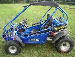 Cómo construir un kart con un motor de cortadora de césped