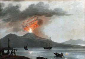 Compresiva límite de placa de un volcán