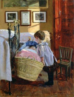 Ropa del siglo 19 a principios de los Niños