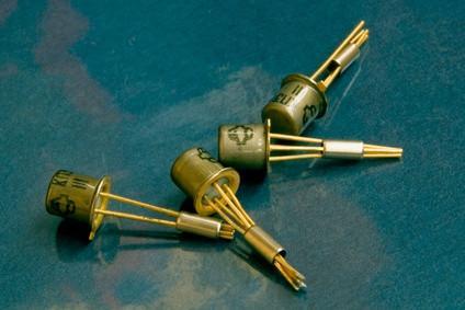 Como prueba de transistores de salida