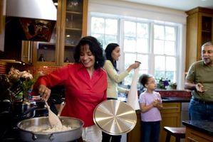 Cómo dividir encima del tiempo con las familias como una pareja casada
