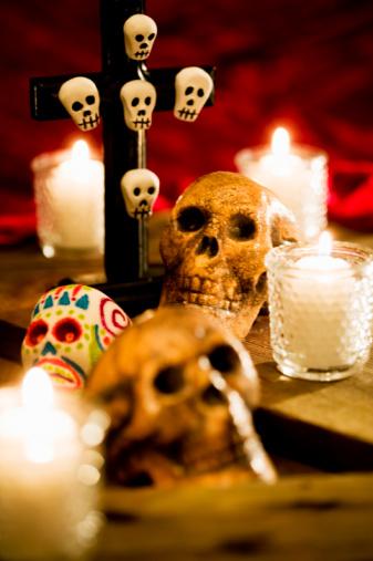 Día de los Muertos hechos en casa Decoraciones