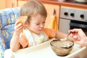 Horario para la alimentación del bebé alimentos sólidos