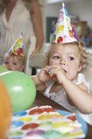 Ideas para el cumpleaños de un niño de dos años de edad
