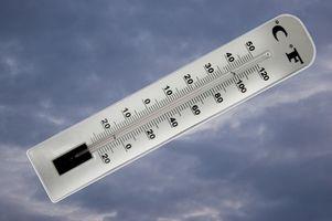 Temperatura de bulbo seco y humedad