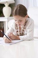 Las razones para escribir una carta de agradecimiento para los niños
