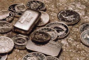 Forma de guardar lingote de plata