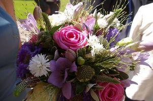 Forma de pedido de flores de la boda