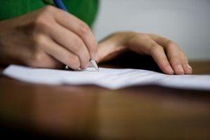 Cómo escribir Uso de la escritura francesa de escritura a mano