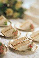 Ideas para el estilo bufé que sirve en una boda