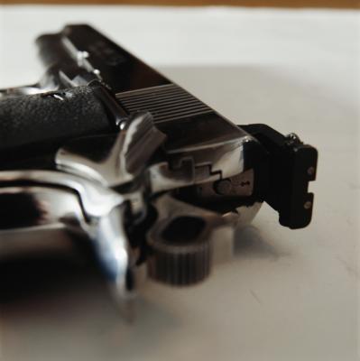 Cómo PEEN los rieles en una M1911