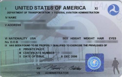 Acerca de las licencias de piloto