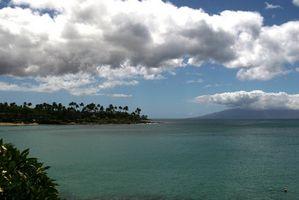 Sobre volcán Mauna Loa
