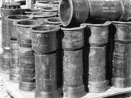 Herramientas históricos de hierro fundido