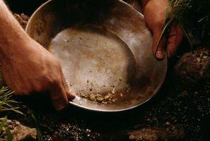 Cómo mina de piedras preciosas y de pan de oro