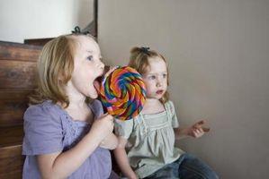 Los proyectos científicos en relación con caramelo