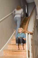 Los efectos de los padres biológicos y separación de los niños