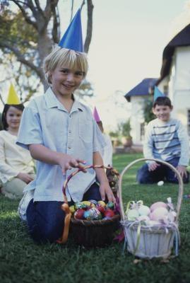 Sombreros de Pascua de ganar para los muchachos