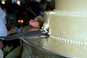 Lo que significa que cada capa de pasteles de boda