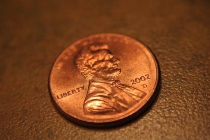 Cómo dar vuelta a una de plata Penny