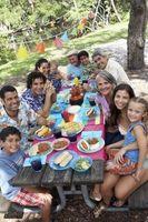 Ideas de comidas para una reunión familiar
