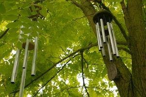 Instrucciones simples para hacer campanas de viento