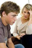 Los temas para adolescentes con problemas